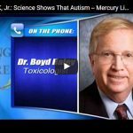 RFK,Jr. on Autism Mercury Link Exists (part 1/2)